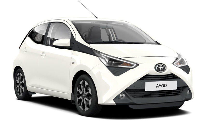 Rent a car Crete - Toyota Aygo